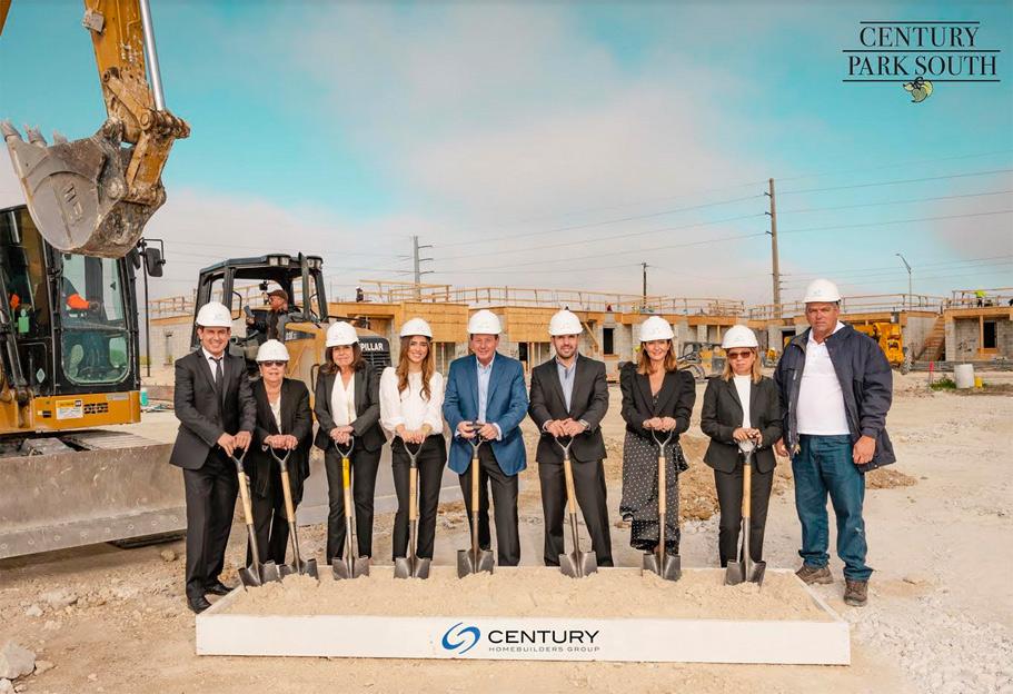 Century Homebuilders Group celebrates the groundbreaking of Century Grand Estates