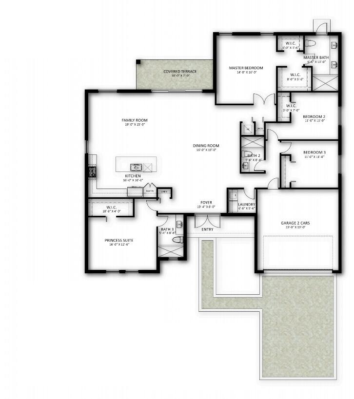 Camila Model Floor Plan