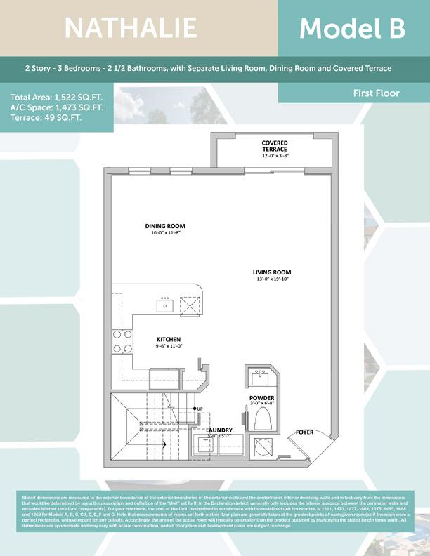 Nathalie Model Floor Plan